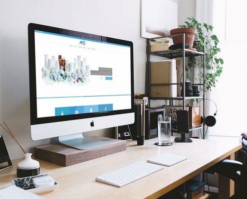 طراحی سایت آکو پلیمر