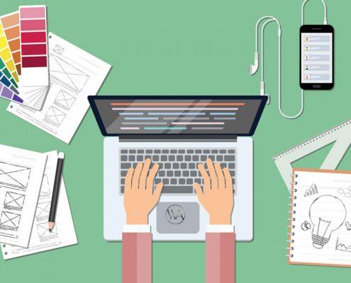 طراحی سایت به شیوه جدید طراحی فلت